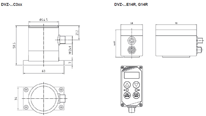 DVZ - Vortex Flowmeter and Switch