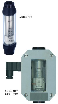Flow Rate Monitors: SERIES HFR, HFS, HFDS, and HFT