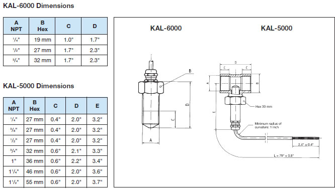 KAL - Thermal Flow Switch